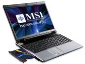 MSI EX623 Notebook Intel Chipset New