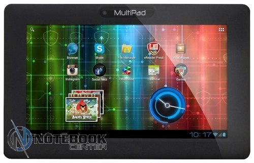 Планшет Prestigio MultiPad Wize 3131 Black PMT3131_3G_D_CIS (MediaTek MTK8321 1.3 GHz/1024Mb/16Gb/3G/Wi-Fi/Cam/10.1/1280x800/Android)