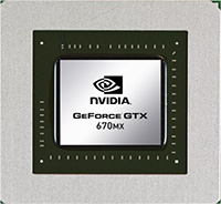 NVIDIA GeForce GTX 670MX SLI