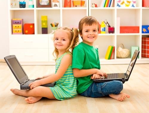 Фото детей с нетбуками