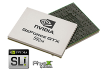 NVIDIA GeForce GTX 580M SLI