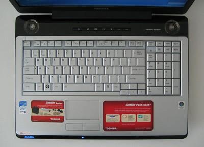 TOSHIBA SATELLITE P205-S6307 DRIVER FOR WINDOWS