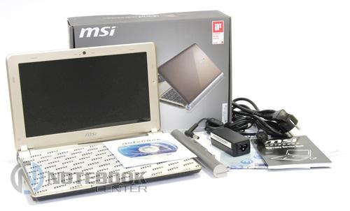 Драйвера для ноутбука msi u160dx