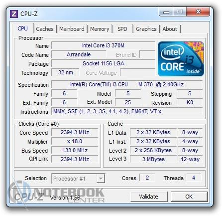 Измерение нагрева процессора
