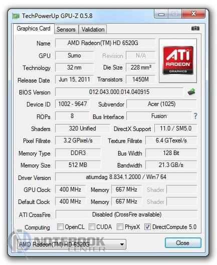 Amd Radeon Hd 6520 G драйвер скачать - фото 9
