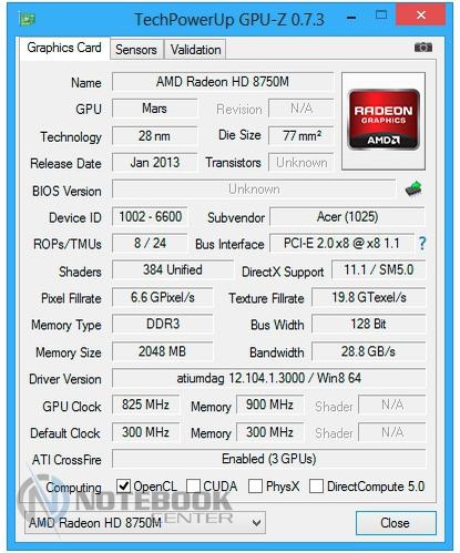 AMD 8750 M DESCARGAR DRIVER