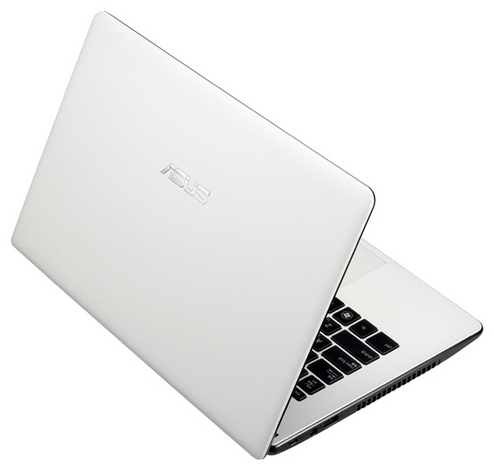 Ноутбук белого цвета