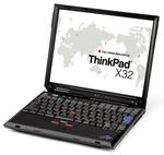 Разборка и чистка ноутбука IBM ThinkPad X32